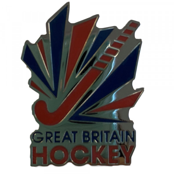 GB Hockey Pin Badge