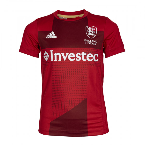 England Hockey Youth Home Replica Jersey Red