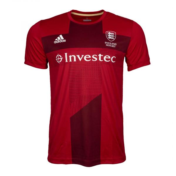 England Hockey Men's Home Replica Jersey Red