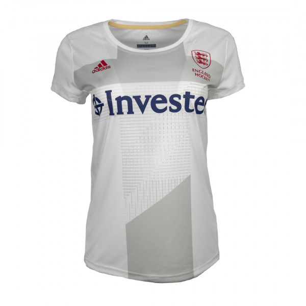 England Hockey Women's Away Replica Jersey White