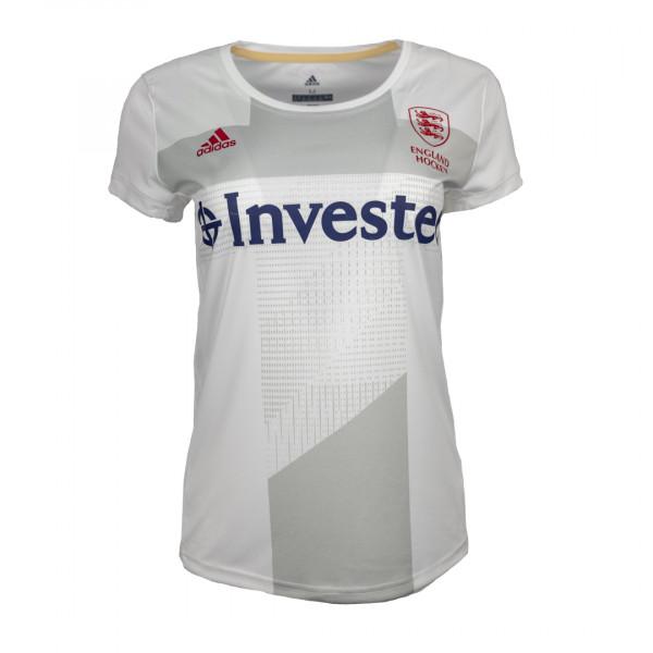 England Hockey Women's Away Replica Jersey White