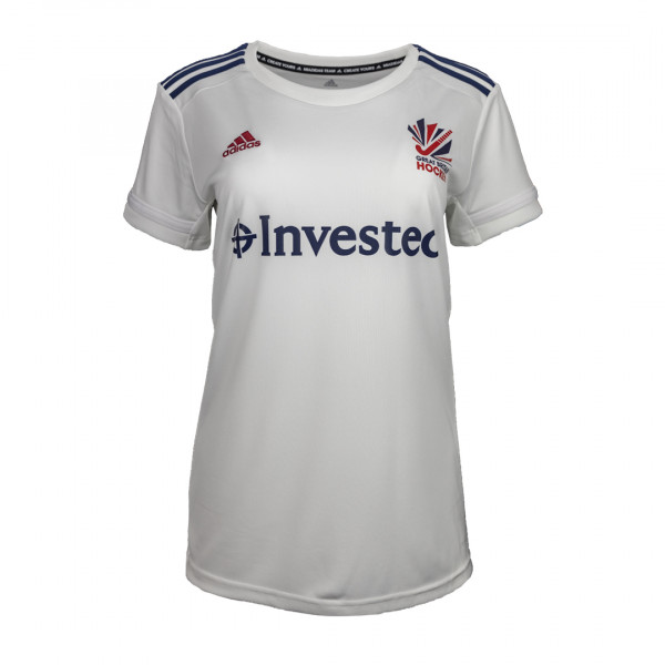 GB Women's Away Replica Tee White